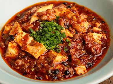 ディナー ラム麻婆豆腐
